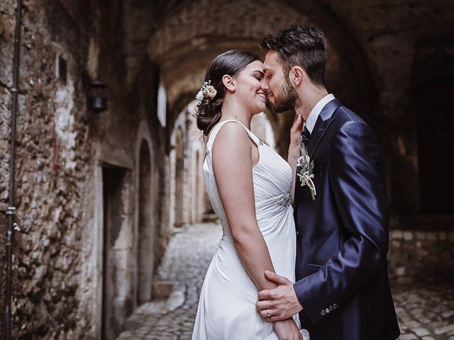 Il matrimonio di Rachele e Andrea a Santo Stefano di Sessanio, L'Aquila 84