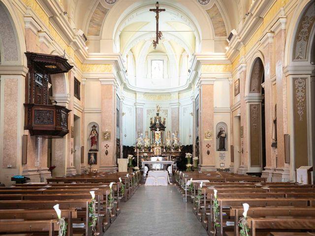 Il matrimonio di Valerio e Elisabetta a Castelletto sopra Ticino, Novara 20