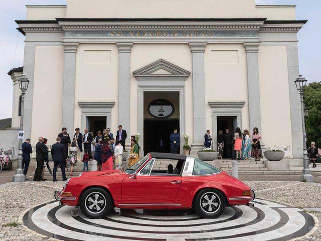 Il matrimonio di Valerio e Elisabetta a Castelletto sopra Ticino, Novara 21