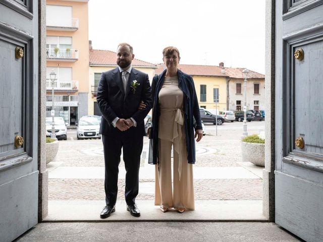 Il matrimonio di Valerio e Elisabetta a Castelletto sopra Ticino, Novara 22