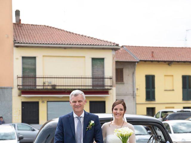 Il matrimonio di Valerio e Elisabetta a Castelletto sopra Ticino, Novara 23