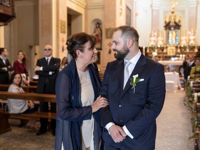 Il matrimonio di Valerio e Elisabetta a Castelletto sopra Ticino, Novara 25
