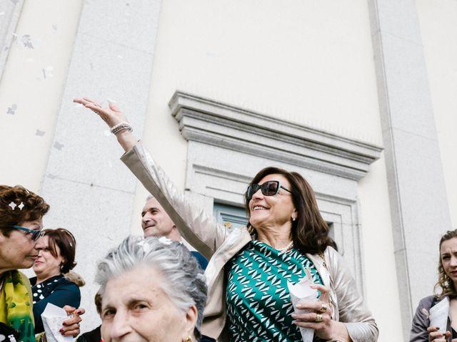 Il matrimonio di Valerio e Elisabetta a Castelletto sopra Ticino, Novara 30