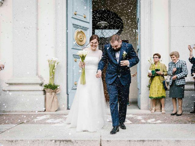 Il matrimonio di Valerio e Elisabetta a Castelletto sopra Ticino, Novara 32
