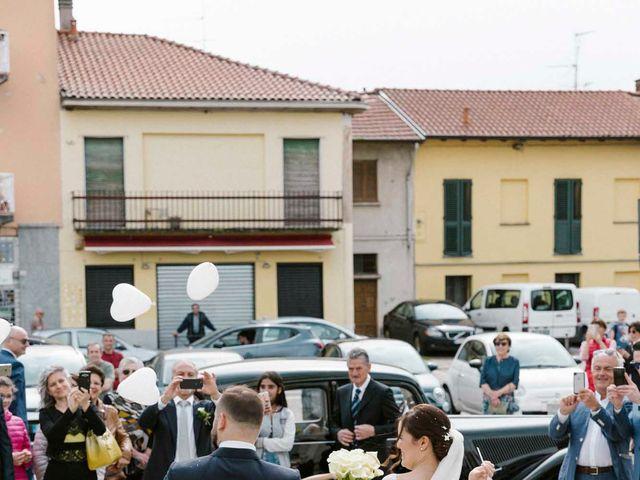 Il matrimonio di Valerio e Elisabetta a Castelletto sopra Ticino, Novara 33
