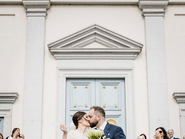 Il matrimonio di Valerio e Elisabetta a Castelletto sopra Ticino, Novara 34