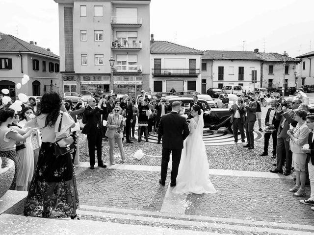 Il matrimonio di Valerio e Elisabetta a Castelletto sopra Ticino, Novara 35