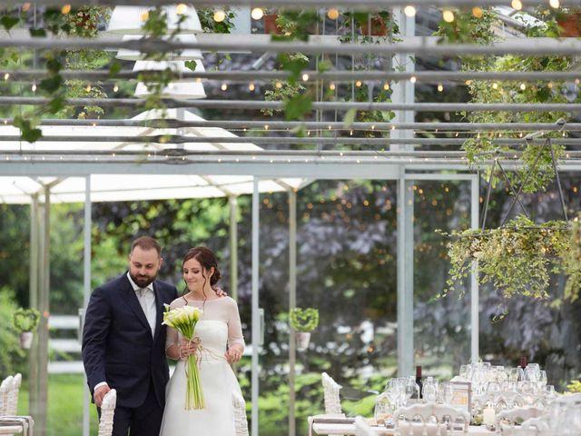 Il matrimonio di Valerio e Elisabetta a Castelletto sopra Ticino, Novara 73