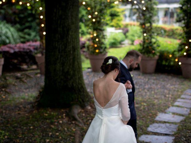 Il matrimonio di Valerio e Elisabetta a Castelletto sopra Ticino, Novara 81