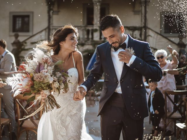 Il matrimonio di Duccio e Serena a Montespertoli, Firenze 1