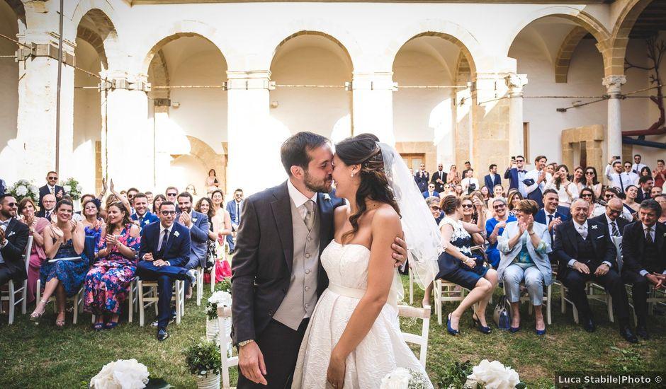 Il matrimonio di Riccardo e Francesca a Marsala, Trapani