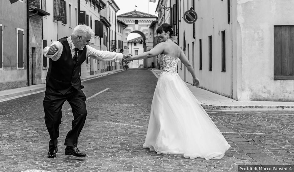 Il matrimonio di Domenico e Silvia a Sesto al Reghena, Pordenone