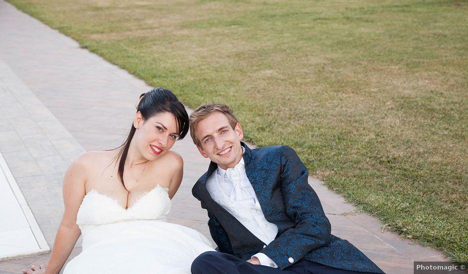 Il matrimonio di Andrea e Franceileen a Capolona, Arezzo