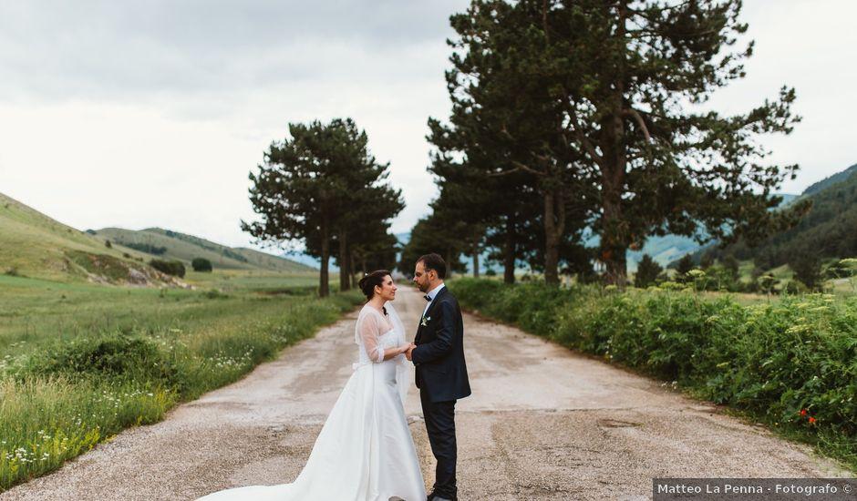 Il matrimonio di Michele e Antonella a Rocca Pia, L'Aquila