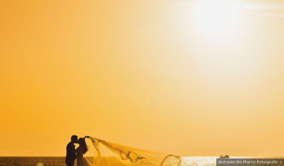 Il matrimonio di Antonio e Lucia a Agropoli, Salerno