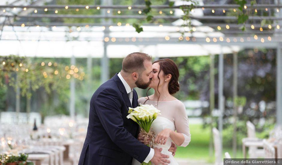 Il matrimonio di Valerio e Elisabetta a Castelletto sopra Ticino, Novara