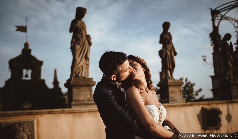 Il matrimonio di Duccio e Serena a Montespertoli, Firenze