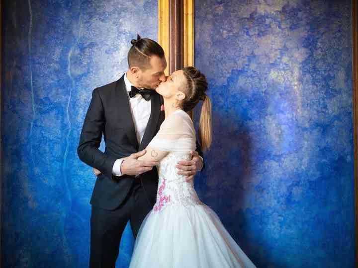 Le nozze di Jenny e Ronnie