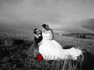 Le nozze di Moreno e Cinzia