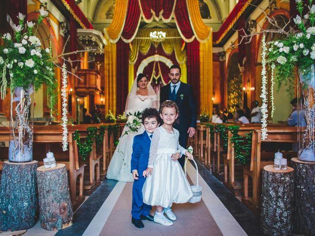 Il matrimonio di Antonio e Concetta a Torre Le Nocelle, Avellino 40