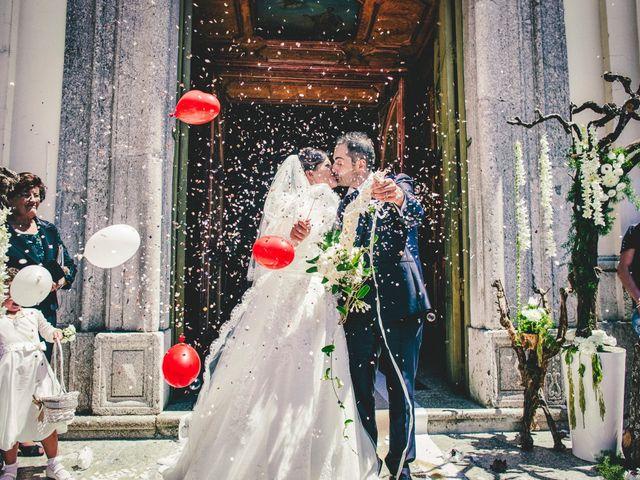 Il matrimonio di Antonio e Concetta a Torre Le Nocelle, Avellino 49