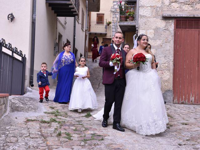 Il matrimonio di Cinzia e Moreno a Valledolmo, Palermo 15