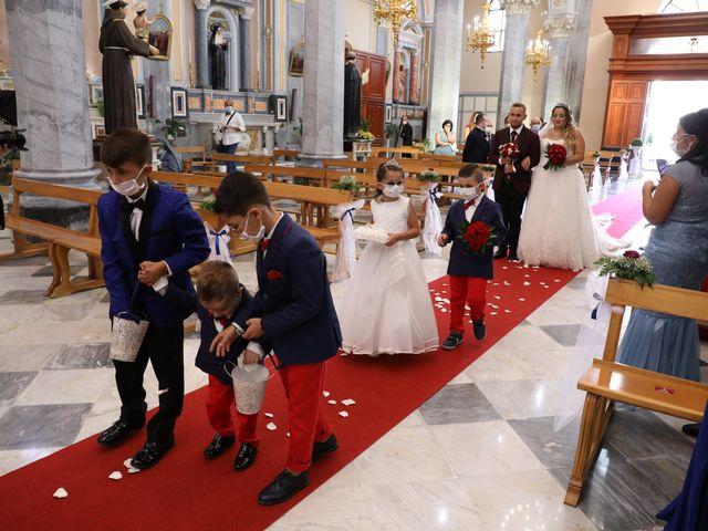 Il matrimonio di Cinzia e Moreno a Valledolmo, Palermo 18