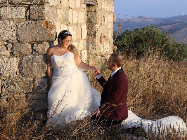 Il matrimonio di Cinzia e Moreno a Valledolmo, Palermo 23