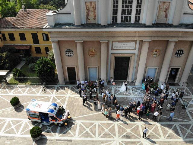 Il matrimonio di Andrea e Valeria a Rho, Milano 30