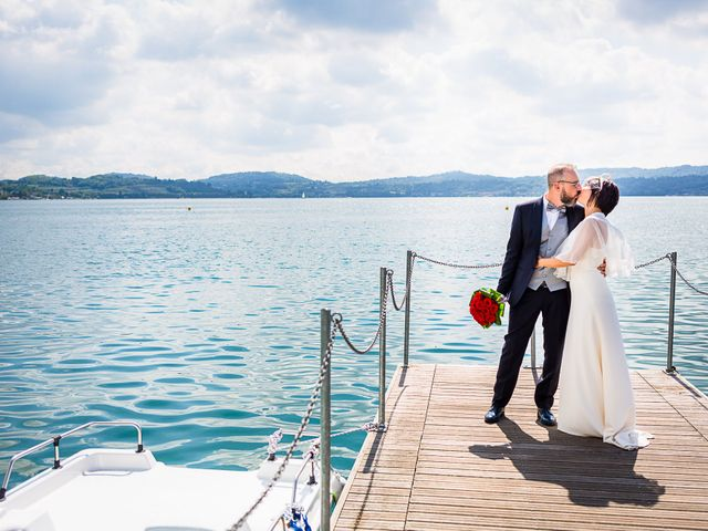 Il matrimonio di Cristina e Domenico a Viverone, Biella 5