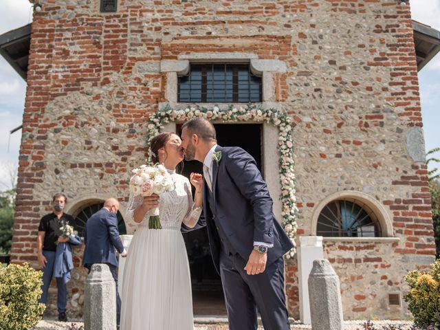 Il matrimonio di Gianfranco e Valentina a Oleggio, Novara 38