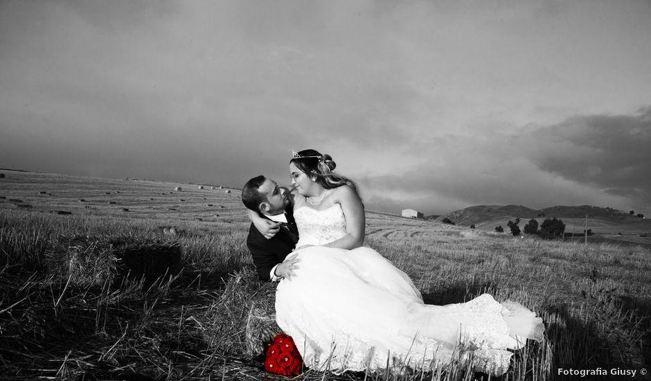 Il matrimonio di Cinzia e Moreno a Valledolmo, Palermo