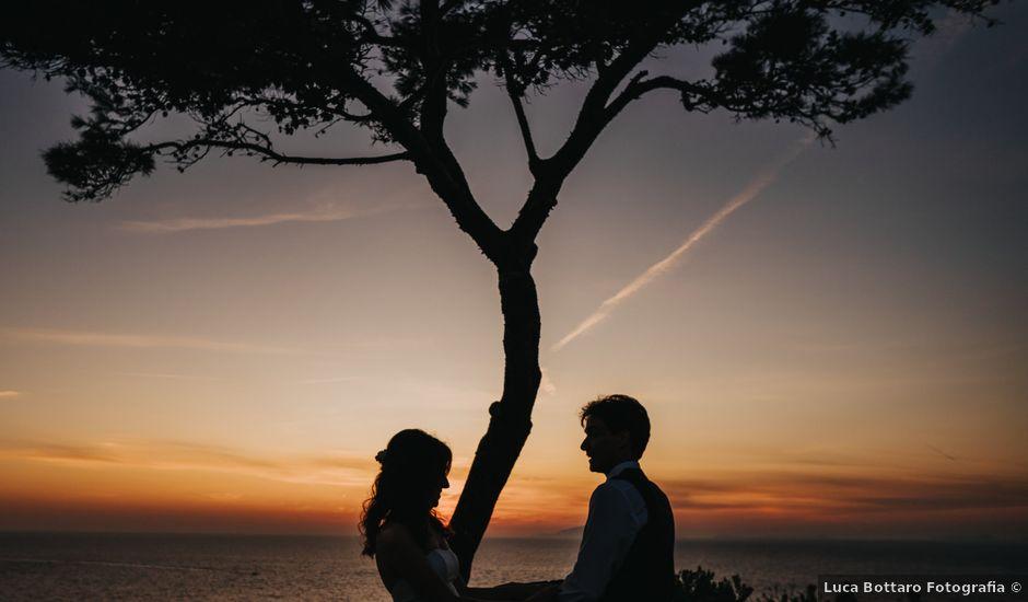 Il matrimonio di Clausia e Ignazio a Sorrento, Napoli