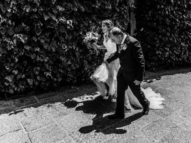 Il matrimonio di Daniele e Irene a Sant'Alfio, Catania 35
