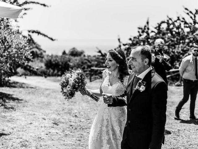 Il matrimonio di Daniele e Irene a Sant'Alfio, Catania 39