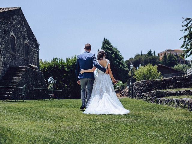 Il matrimonio di Daniele e Irene a Sant'Alfio, Catania 53