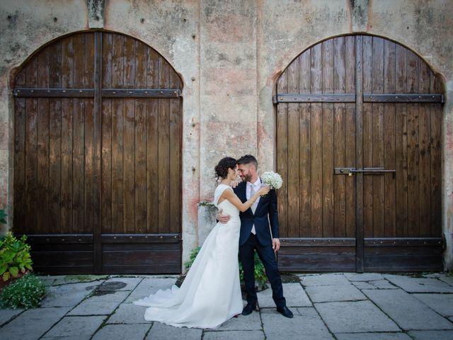 Il matrimonio di Carlo e Valentina a Desana, Vercelli 39