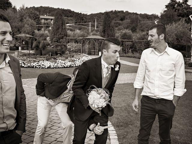 Il matrimonio di Enrico e Simona a Lurano, Bergamo 24