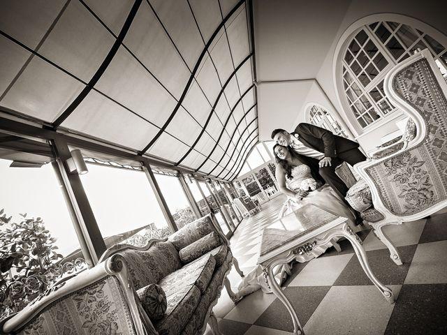 Il matrimonio di Enrico e Simona a Lurano, Bergamo 25