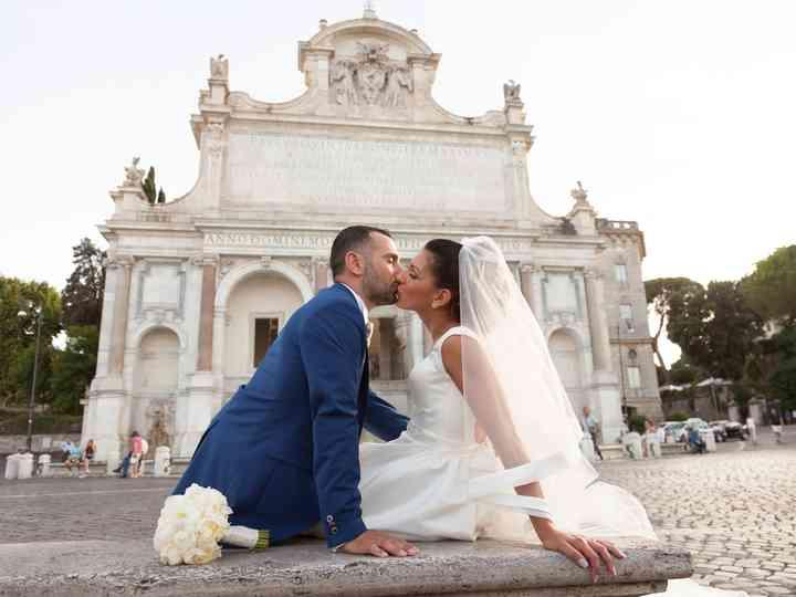 le nozze di Chiara e Emiliano