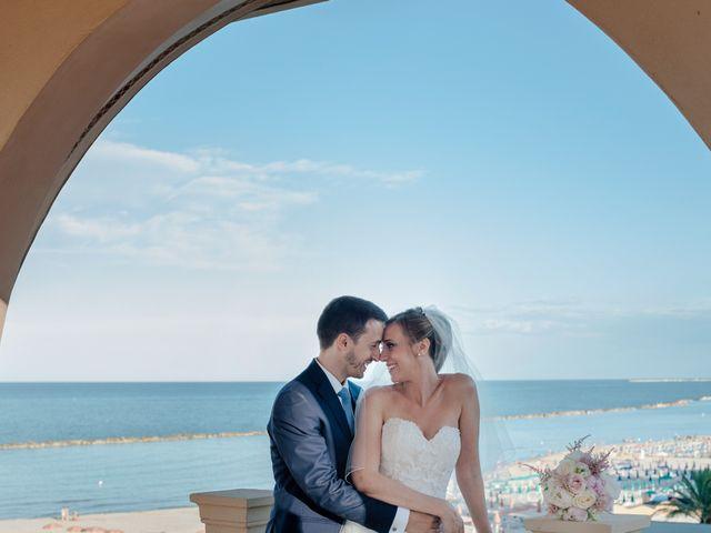 le nozze di Maria Chiara e Jordi