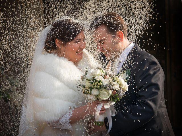 le nozze di Mariasole e Gabriele