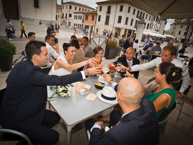 Il matrimonio di Paolo e Elena a Codognè, Treviso 100
