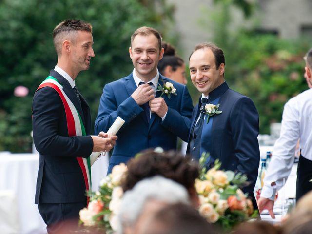 Il matrimonio di Vincenzo e Debora a Palazzo Pignano, Cremona 17