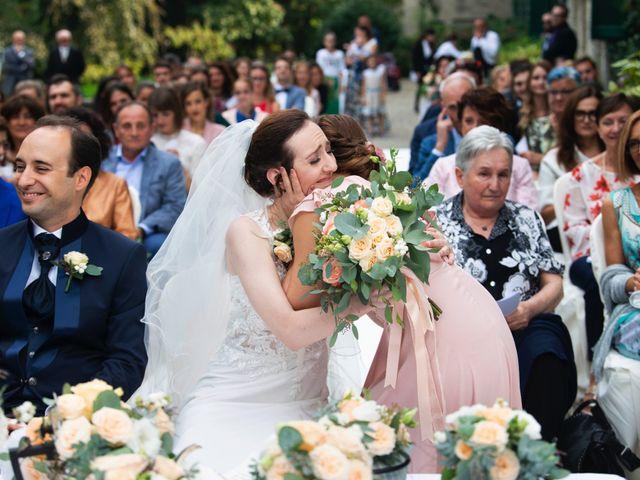 Il matrimonio di Vincenzo e Debora a Palazzo Pignano, Cremona 25