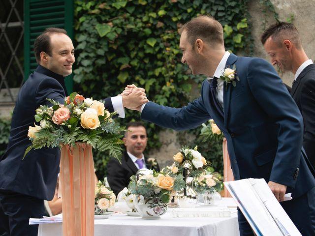Il matrimonio di Vincenzo e Debora a Palazzo Pignano, Cremona 26