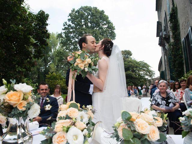 Il matrimonio di Vincenzo e Debora a Palazzo Pignano, Cremona 1