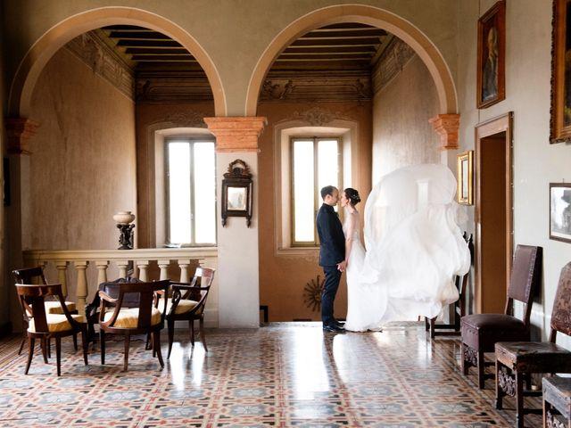 Il matrimonio di Vincenzo e Debora a Palazzo Pignano, Cremona 2