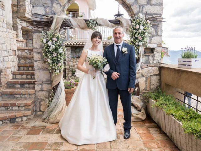 Il matrimonio di Elisa e Alessio a Trivigliano, Frosinone 15