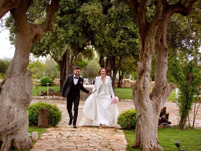 Il matrimonio di Giuseppe e Valeria a Noicattaro, Bari 45